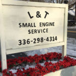 l-and-t-small-engine-service-llc-street-sign